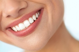 person with a healthy smile