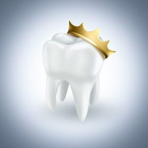 Picture of a tooth with a royal crown